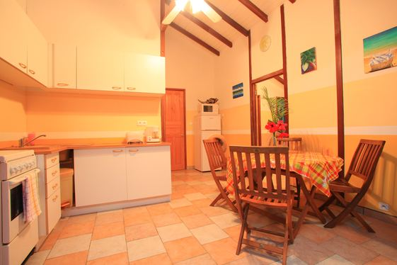 Kitchen corner: Ferry Deshaies Guadeloupe