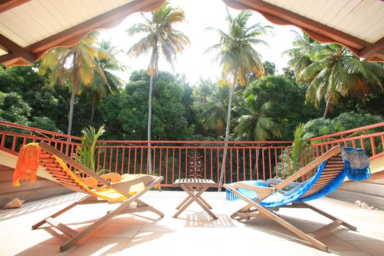3 persons apartment teracein Guadeloupe