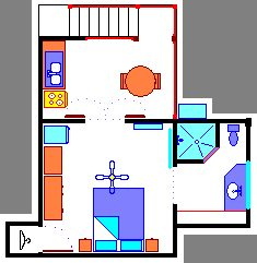 Beautiful studio floor plan